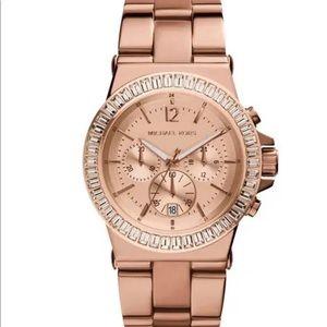 Unisex Michael Kors MK5412 Bel Aire RoseGold Watch